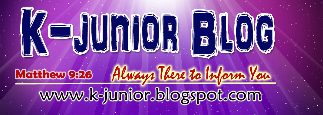 "K-junior  ""Always There to Inform You"""