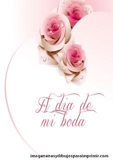 rosas decorando un corazón