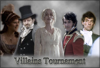 Period Drama Villains Tournament