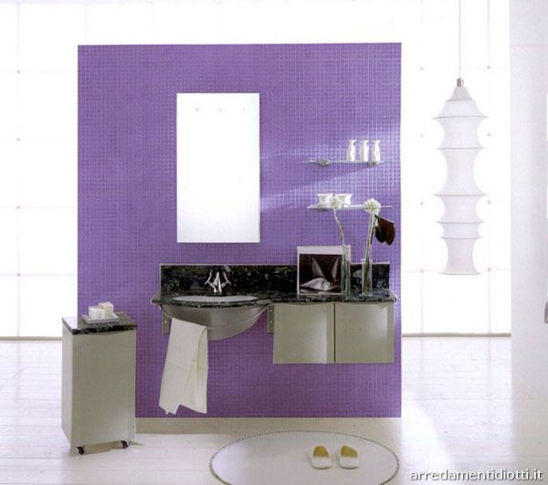 Beauty houses purple exotic interior designs bathroom for Purple bathroom ideas