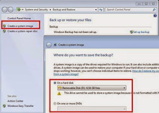 cara backup dan restore windows 7