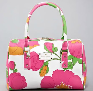 Kate spade flower printed bag