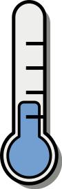 termometre ikon