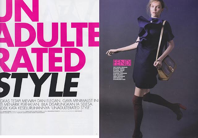 Natalia Alimova for WW Magazine Malaysia