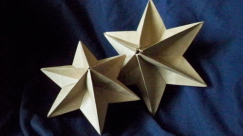 star napkin folding instructions