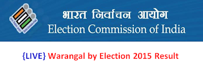 Warangal by Election 2015 Result