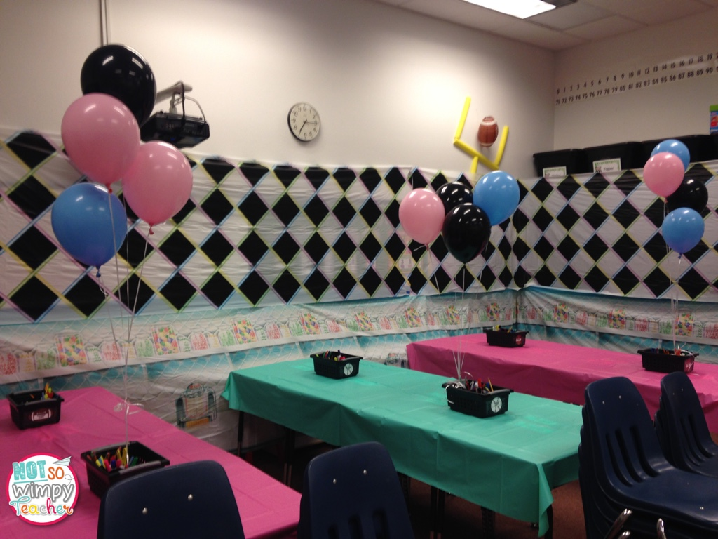 Diary of a not so wimpy teacher valentine 39 s day party ideas for 50s party decoration