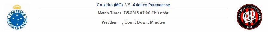 Cruzeiro vs Atletico Paranaense link vào 12bet