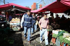 Supervisa PC Xalapa 400 puestos de Tianguis de la Toluca