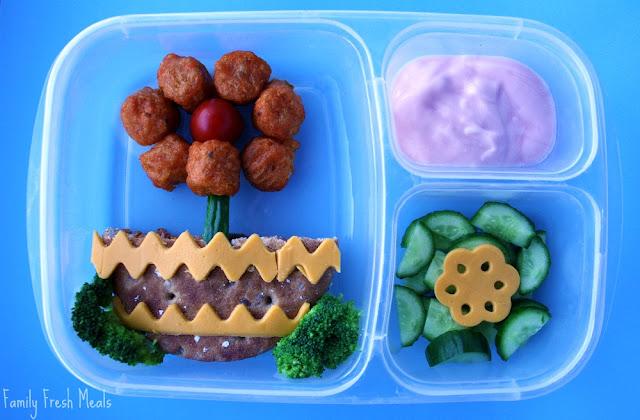 fun flower school lunch