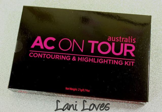 Australis AC On Tour Contouring & Highlighting Kit Swatches & Review
