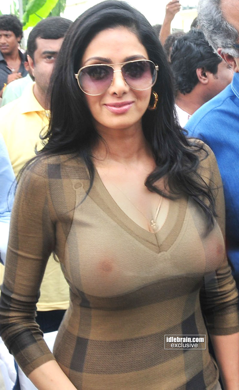 Sridevi nude boobs all