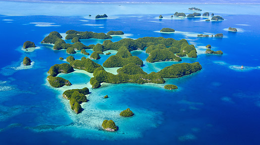 best secluded beach in the world, palau