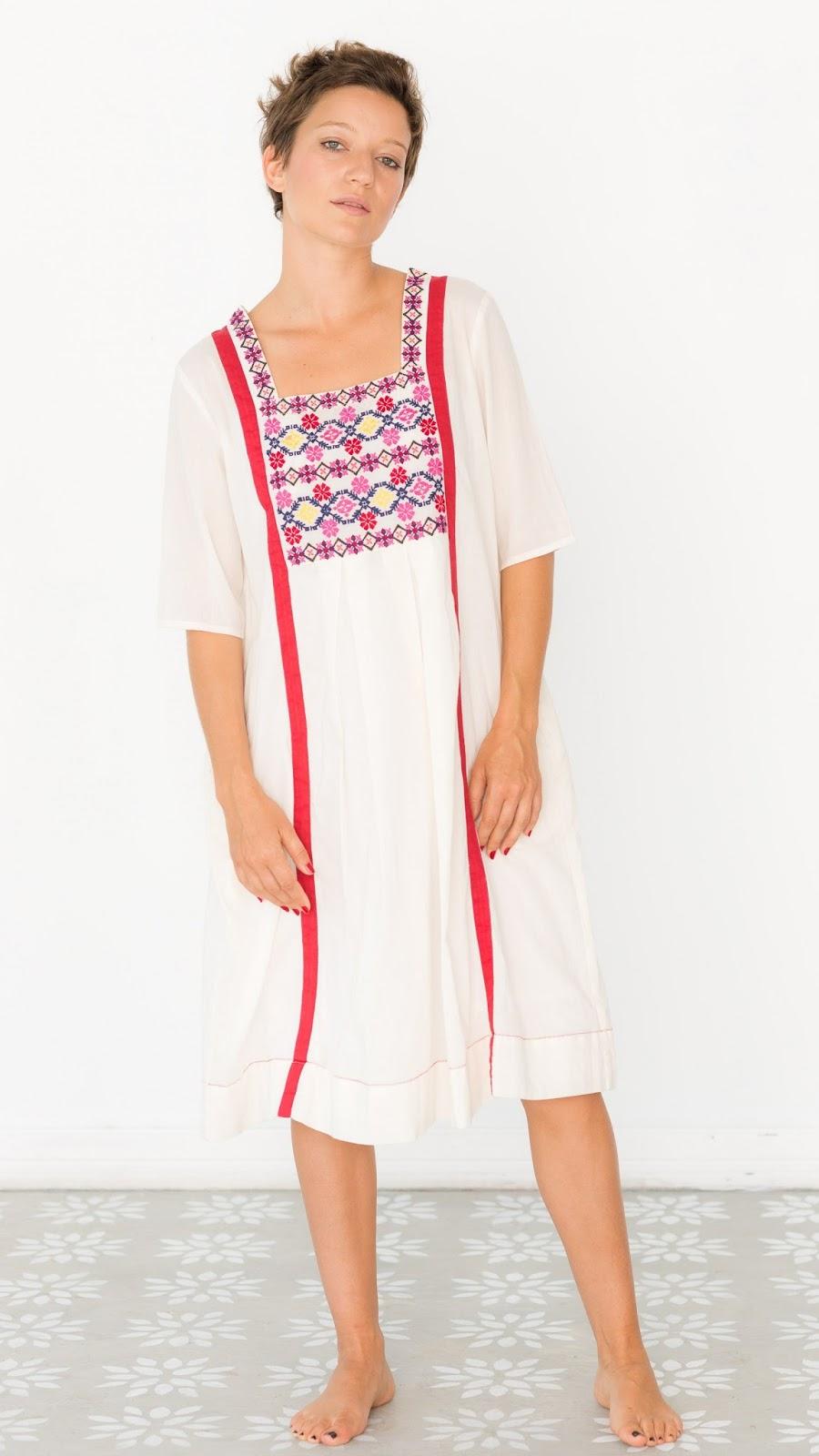 Meika Dress Ivory