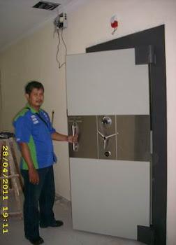 pemasangan pintu 70mm di Jakarta