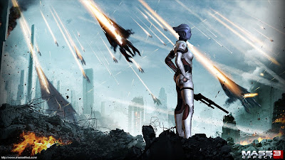 Mass Effect 3 Liara Tsoni Wallpaper