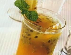 punch markisa nanas minuman es soda markisa nanas