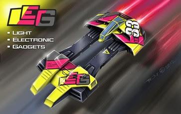 Astro Racer 33-LEG Papercraft