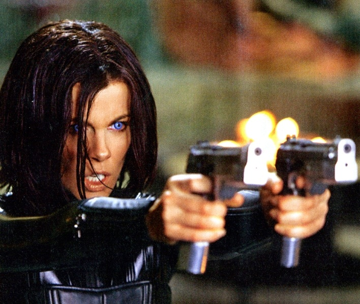 Kate Beckinsale en Underworld: Awakening