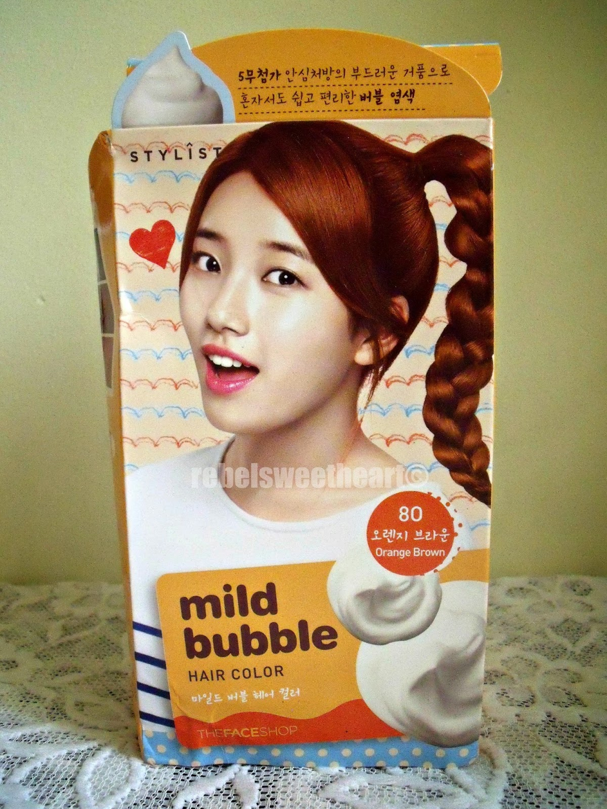 The Rebel Sweetheart Hair Story The Face Shop Mild Bubble Hair
