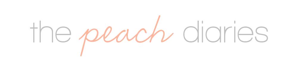 the peach diaries