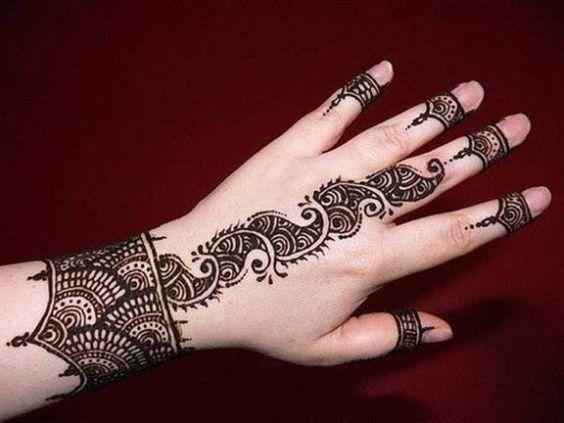 Mehndi Henna Hd : Beautiful latest simple arabic pakistani indian bridal girl mehndi