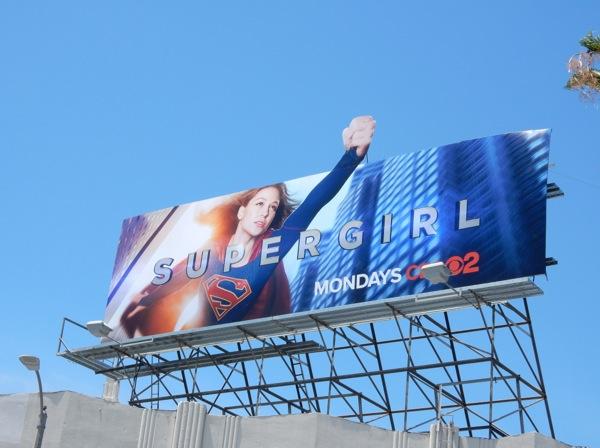 Supergirl TV series billboard