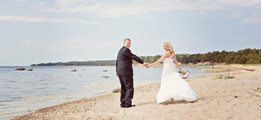 pruutpaar-rannas