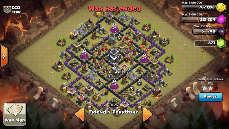 War base recommendations th8 war base recommendations th9 war base