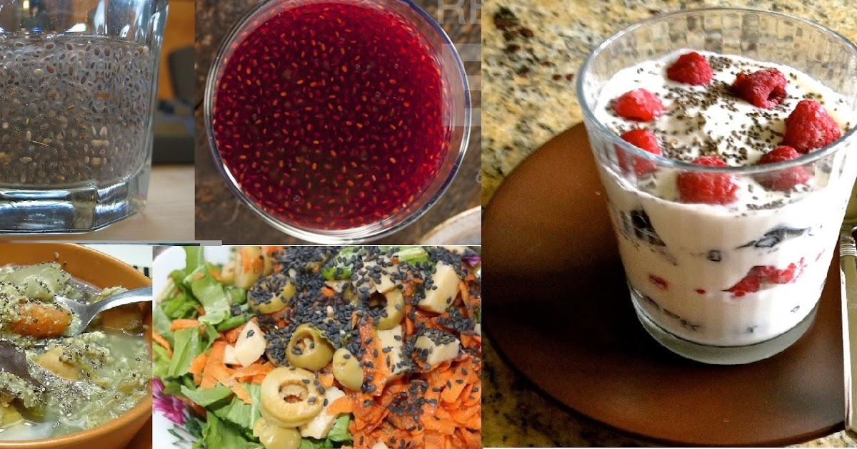 Beneficios de las semillas de chia frutas verduras - Semillas de frutas y verduras ...