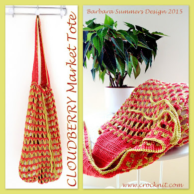 CLOUDBERRY MARKET TOTE PATTERN