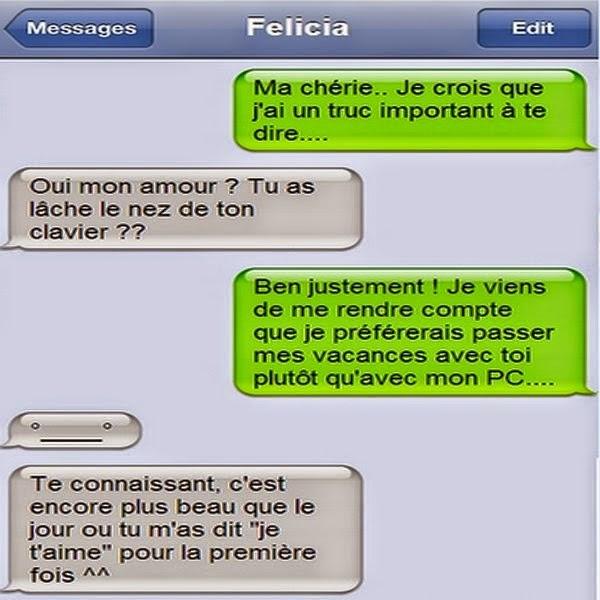 Connu Conversation pleins d'amour | SMS DROLE JS59