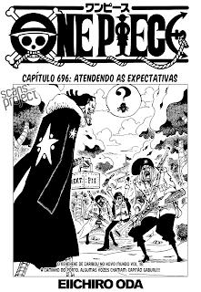 One Piece 696 Mangá português leitura online agaleradosanimes.net