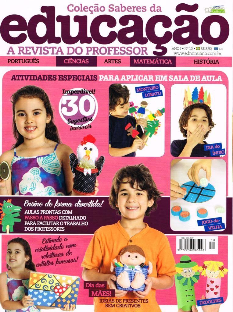 Coleção Saberes da Educação, Revista do professor, Laura Jarcew, Maria Adna
