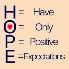 hope is a gift