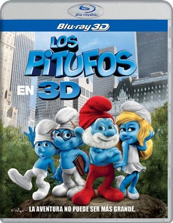 Los Pitufos 3D SBS Latino