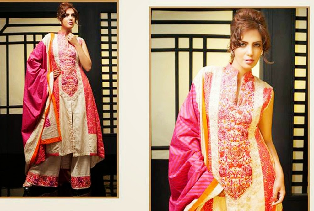 Anum Siraj Winter Dress Collection 2014-2015