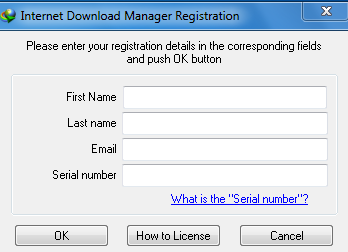internet  manager serial key and email