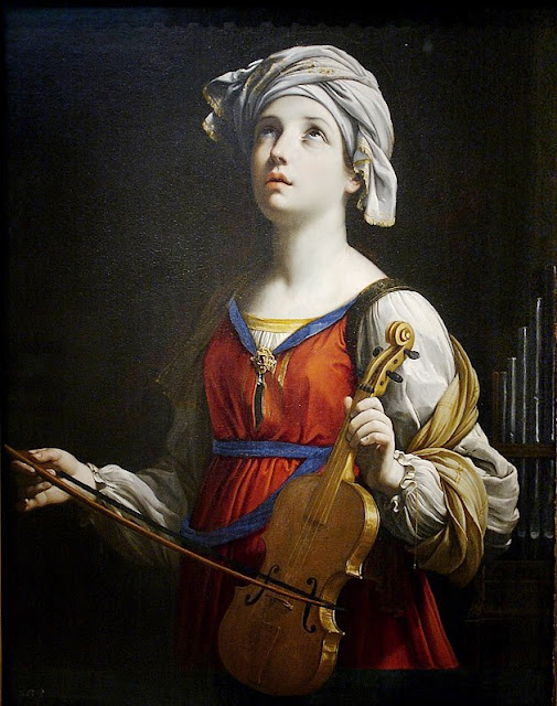 Patron saint of music