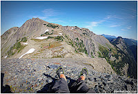 Olympic mountain traverse