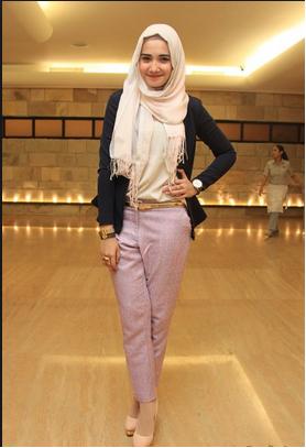 Inspirasi Fashion Hijab Dengan Gaya Cantik Ala Zaskia
