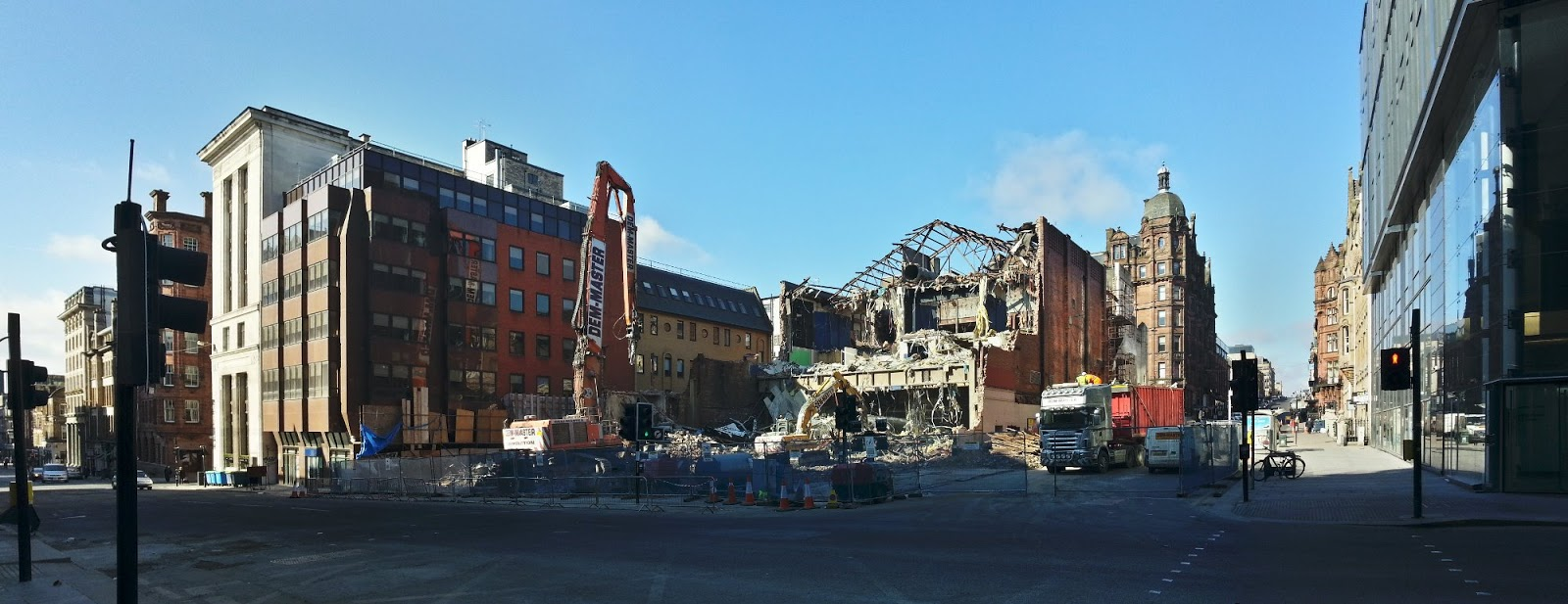 Odeon demolished, Glasgow