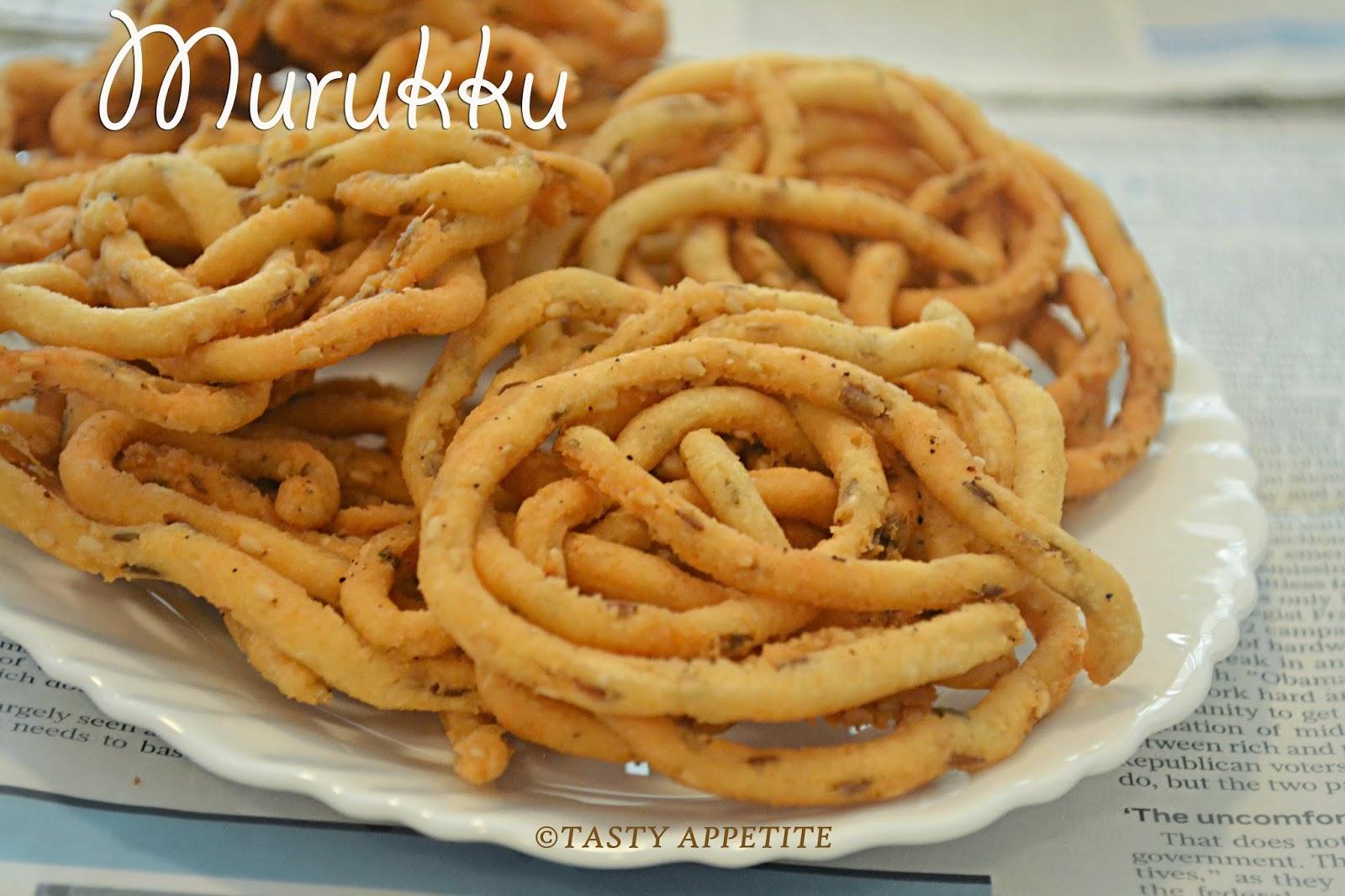 Easy recipes for murukku