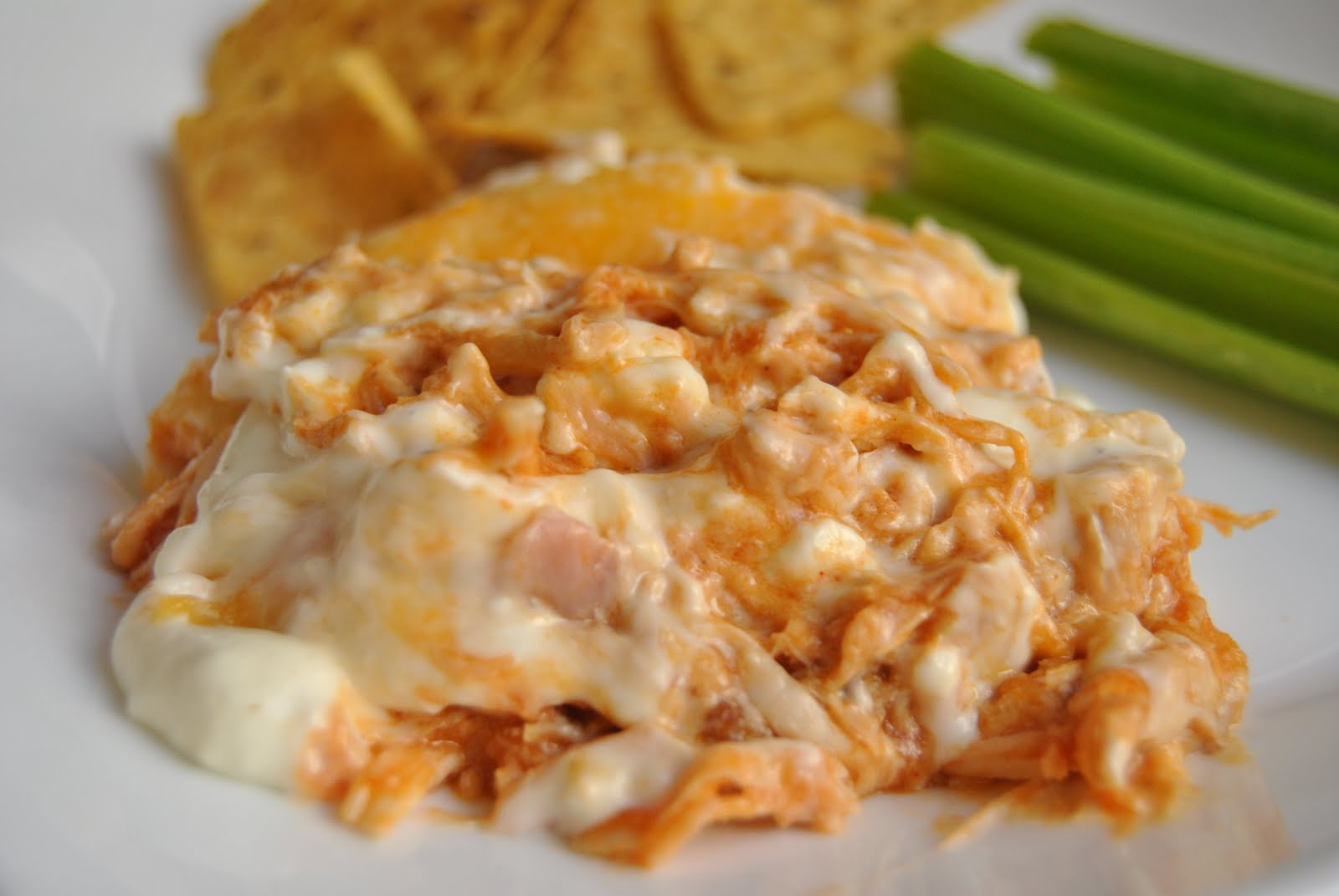 Malikala's Ono Kine Grinds: Buffalo Chicken Dip