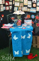 Stampin' Up! Stand at Stoke Goldington Steam Rally