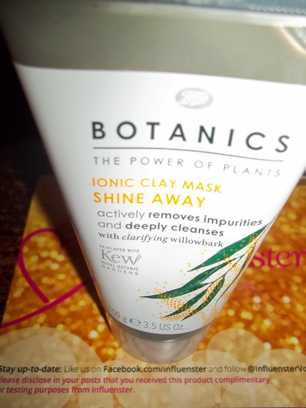 Ramblings Thoughts, Review, Influenster, Boots Botanics, Clay Mask, Beauty