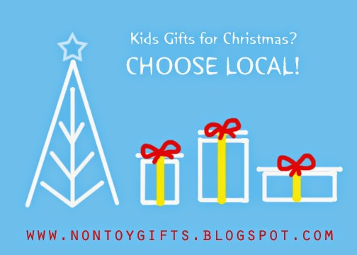 CHOOSE LOCAL GIFTS!