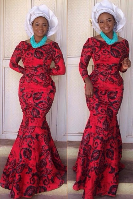 Ankara And Lace Combinations Style Dezango Fashion Zone