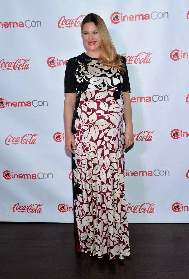 Pregnant Drew Barrymore During Pregnancy