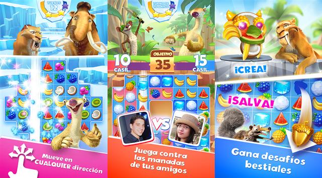 Ice Age: La Avalancha v1.0.2a Apk Mod [Oro ilimitado]
